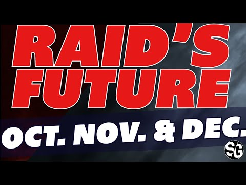 RAID's future Oct. Nov. & Dec. Raid Shadow Legends
