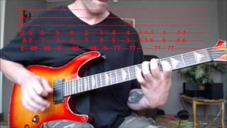 Orion - Metallica (Main Riff) Guitar Lesson