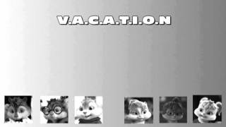 vacation chipmunks and chipettes