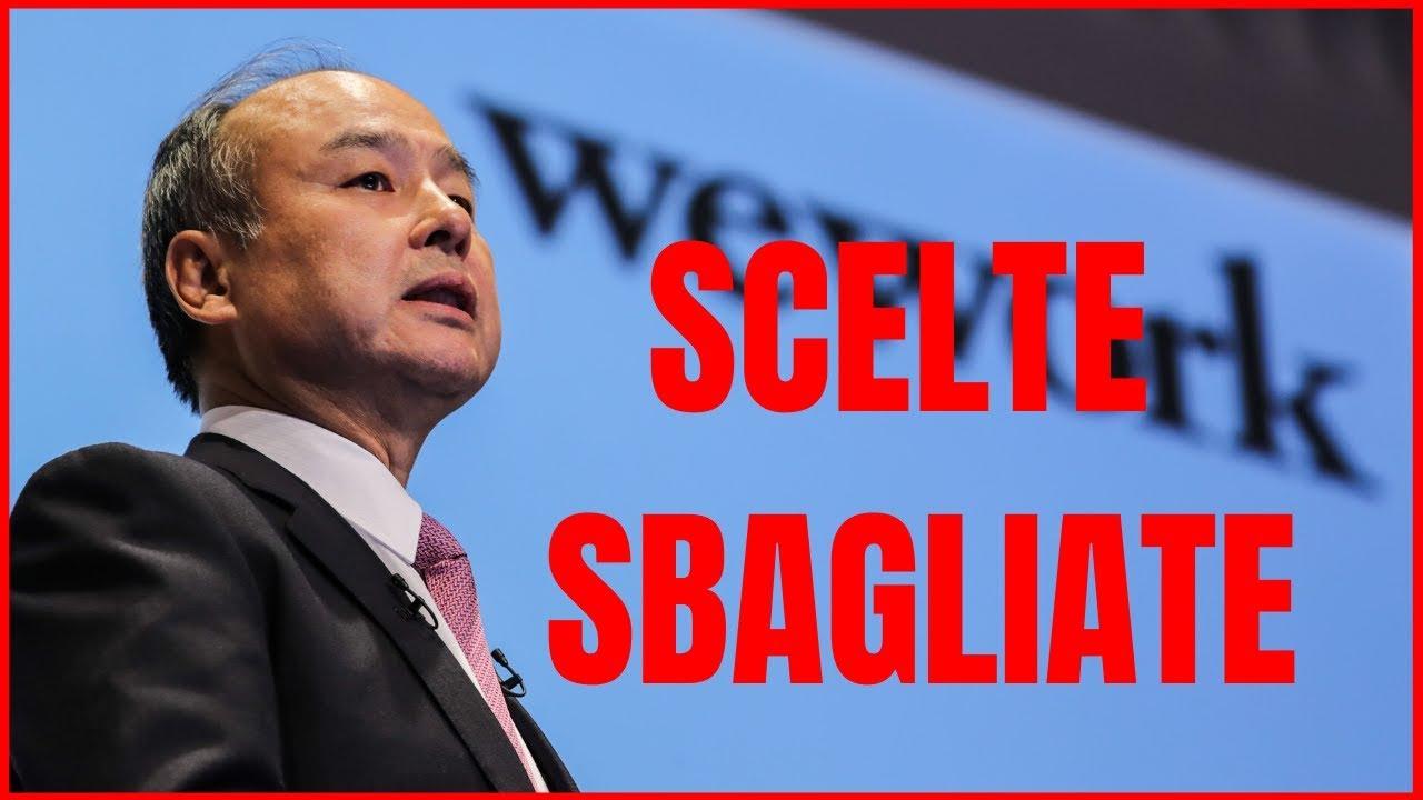 Softbank perde oltre 6 miliardi a causa di WeWork ed Uber