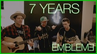 Lukas Graham - 7 Years (Emblem3 Cover Live at #BrooklynPatch)