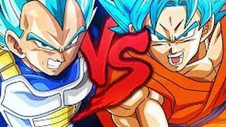 Zuando Youtubers #30 - Goku VS. Vegeta 2 (Duelo de Titãs - 7 Minutoz)