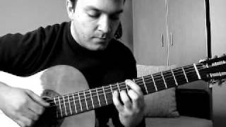 Vlatko Stefanovski - Gipsy Song cover (video tutorial) 1. deo