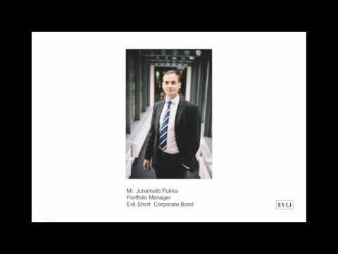 La visión de Evli sobre la Renta Fija en 6 minutos: Evli Short Corporate Bond con el gestor Juhamatti Pukka.