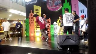 Stupid Silent Live Performance - Heyy Hoo at Plaza Semanggi ( Bboys Chyper )