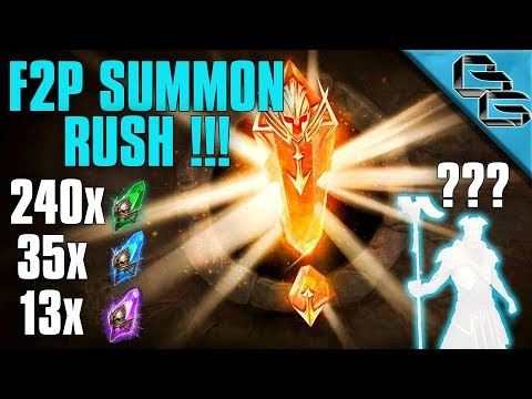 RAID: Shadow Legends | Another F2P Summon Rush !!! |1...2, 3...4 LOL!?! | Ep.5