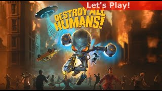 Destroy All Humans! Switch footage