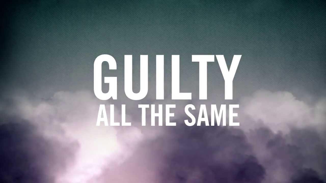 Guilty All The Same (Official Lyric Video) - Linkin Park (feat. Rakim)