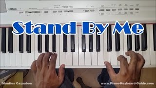 How to Play Stand By Me - Easy Piano Tutorial - Bass and Chords