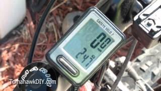 Review: Bike Computer / Speedometer - Cateye Velo