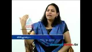 Sindhu Joy Back to Politics, Asianet News Exclusive, 28th Feb 2014