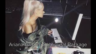 BIG Ariana Grande Subliminal Package 2018 POWERFUL