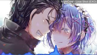 Nightcore - Love Shot