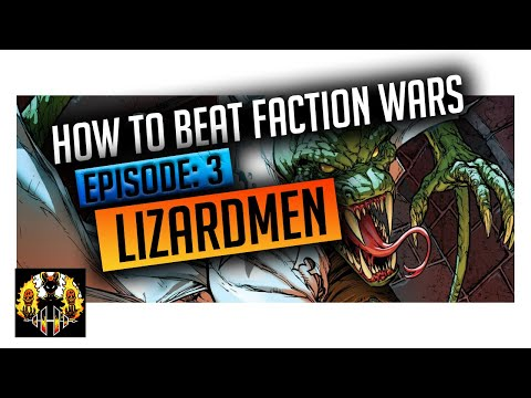 RAID: Shadow Legends | How to beat Faction Wars, Episode 3: LIZARDMEN! Maybe the worst faction!!