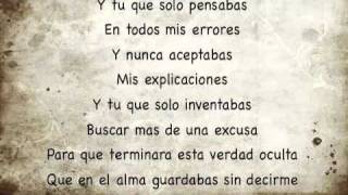 Y tu -Julion Alvarez (lyrics)