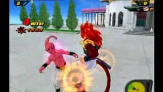 DBZ: Budokai Tenkaichi 2 - Super Saiyan 4 Gogeta vs Z Villians & Ultimate Gohan