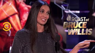Christmas Memories with Demi Moore - Roast of Bruce Willis - Uncensored