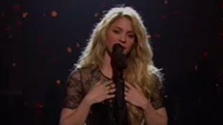 "Shakira's Powerful ""Empire"" Performance at iHeartRadio Music Awards 2014"