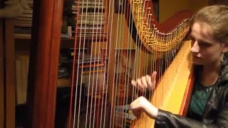 The Police - Every Breath You Take (Harp Cover) + SHEET MUSIC