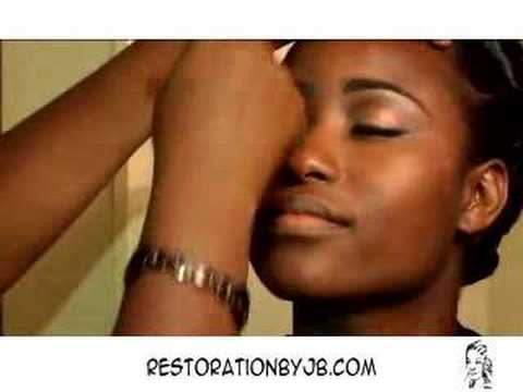 Airbrush Wedding Makeup for Dark Skin by Jane B.