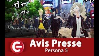 Persona 5 – L'avis de la presse (French Accolades Trailer)