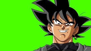 DRAGON BALL Z/S GOKU BLACK (BASE) GREEN SCREEN EFFECTS Drangon Ball Z/Super