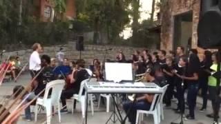 """Orquestra e Coro Nova Sinfonia - Favo de Mel (filme """"Rio"""") - Parque das Ruínas"""