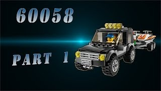 LEGO City Town Внедорожник с катером (60058)№1 / LEGO City Town SUV with a boat №1