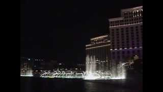 Bellagio Fountains Frank Sinatra Fly Me to the Moon Vegas