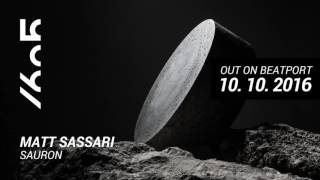 Matt Sassari - Sauron / Teaser