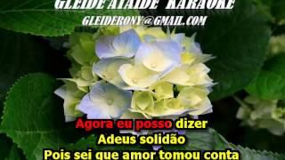 ADEUS SOLIDÃO   CARMEM SILVA KARAOKE 2