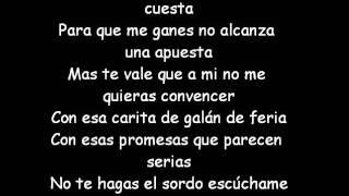 Ni Rosas, Ni Juguetes- Paulina Rubio ft. Pitbull (Letra)