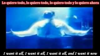 Queen - I Want It All Subtitulado Español Ingles