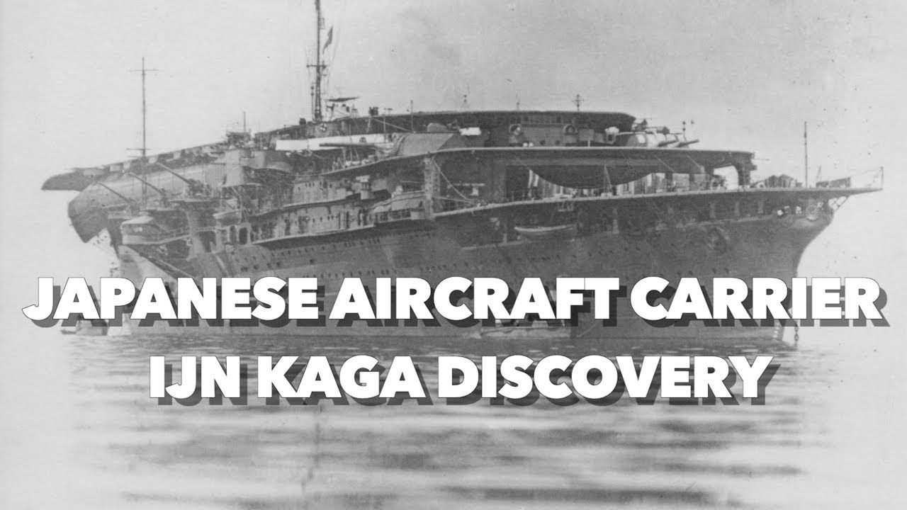 Discovery of the Japanese Aircraft Carrier IJN KAGA - Latest Footage