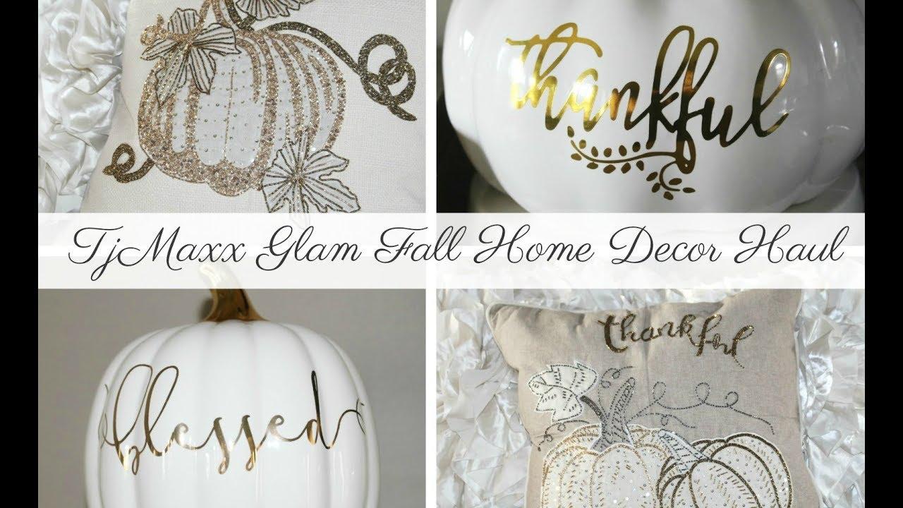 TJMAXX GLAM FALL HOME DECOR HAUL