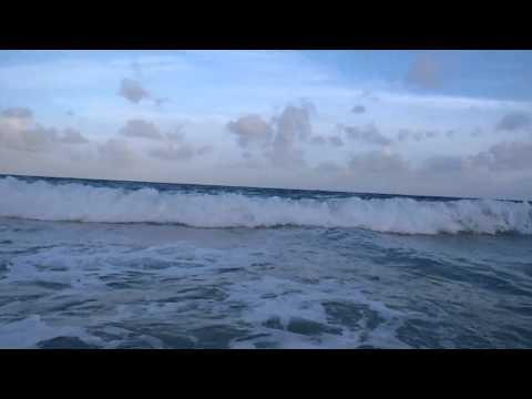Boogie Boarding – Corn Island, Nicagua.  Too much agua!