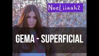 Gema - Superficial (Letra)