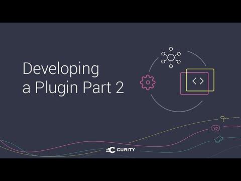 Developing a Plugin Part 2