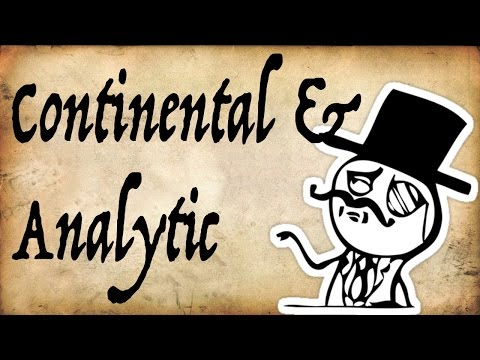 Continental Vs Analytic Philosophy - Gentleman Thinker