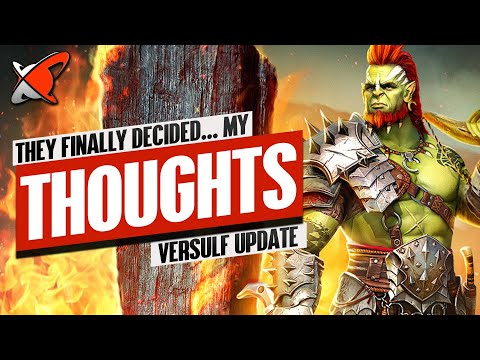 PLARIUM FINALLY MADE THEIR DECISION... MY THOUGHTS | Versulf Fusion Update | RAID: Shadow Legends