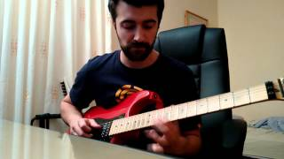 I'm No Angel - The Winery Dogs (Guitar Solo Cover)