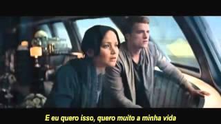 Sia - Elastic Heart- Catching Fire Music Video(LEGENDADO)
