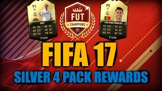 FIFA 17 FUT CHAMPIONS SILVER 2 PACK REWARD