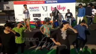 Happy streets performance... Sawaar loon | Studio FM| vieshwa