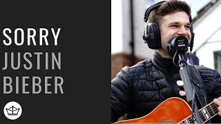 Justin Bieber - 'Sorry' Acoustic Cover Live Performance - With Lyrics