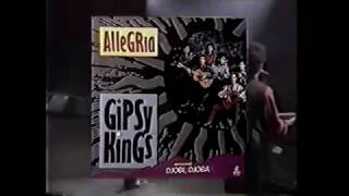 Comercial do LP 'Allegria' dos Gipsy Kings (1992)