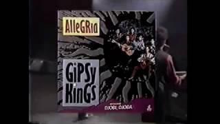 Comercial do LP 'Allegria' dos Gipsy Kings (1992)