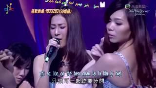 [Vietsub + Kara] 大愛 - Tình Yêu Lớn - Chung Gia Hân (Live)