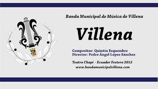 Pasodoble Villena (2015)
