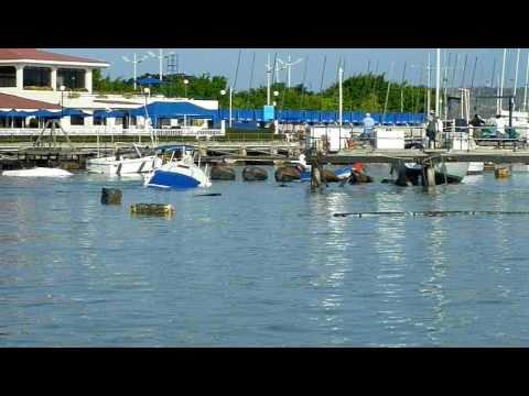 Impacto de olas por Tsunami llegan a Salinas Ecuador – video 3